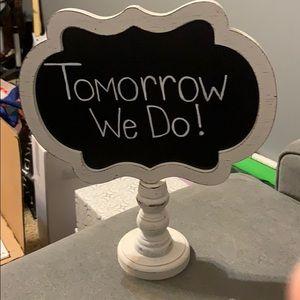 Rehearsal dinner sign